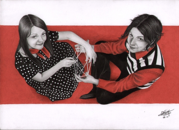 The White Stripes by Denise